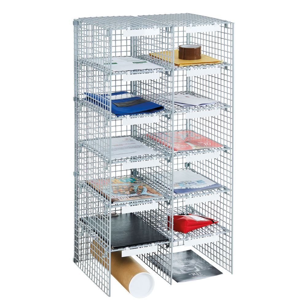 GoSecure 12 Compartment Mailroom Sorting Unit - VP86706