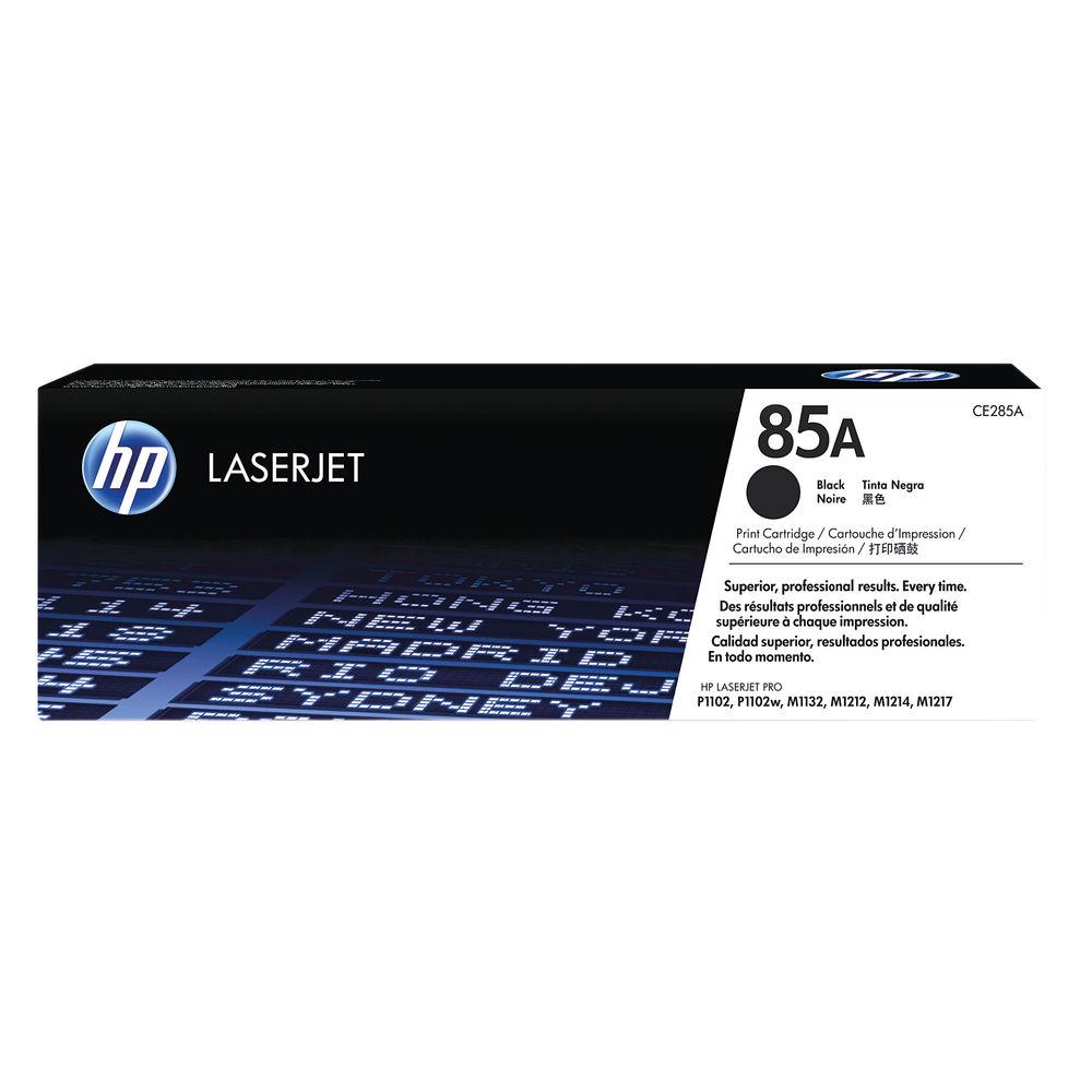 HP 85A Black Toner Cartridge - CE285A