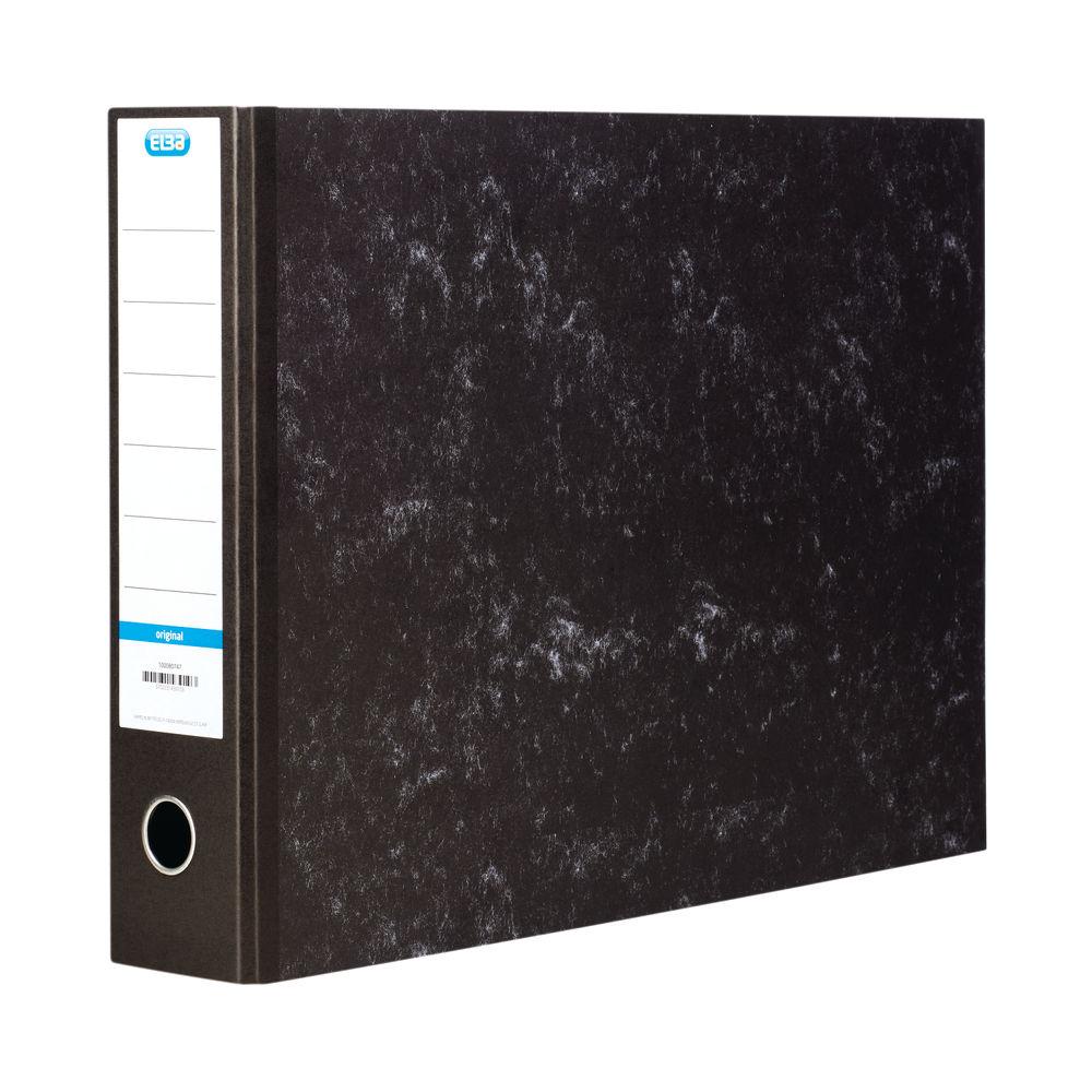 Elba Black A3 Oblong Lever Arch File 70mm - BX143910