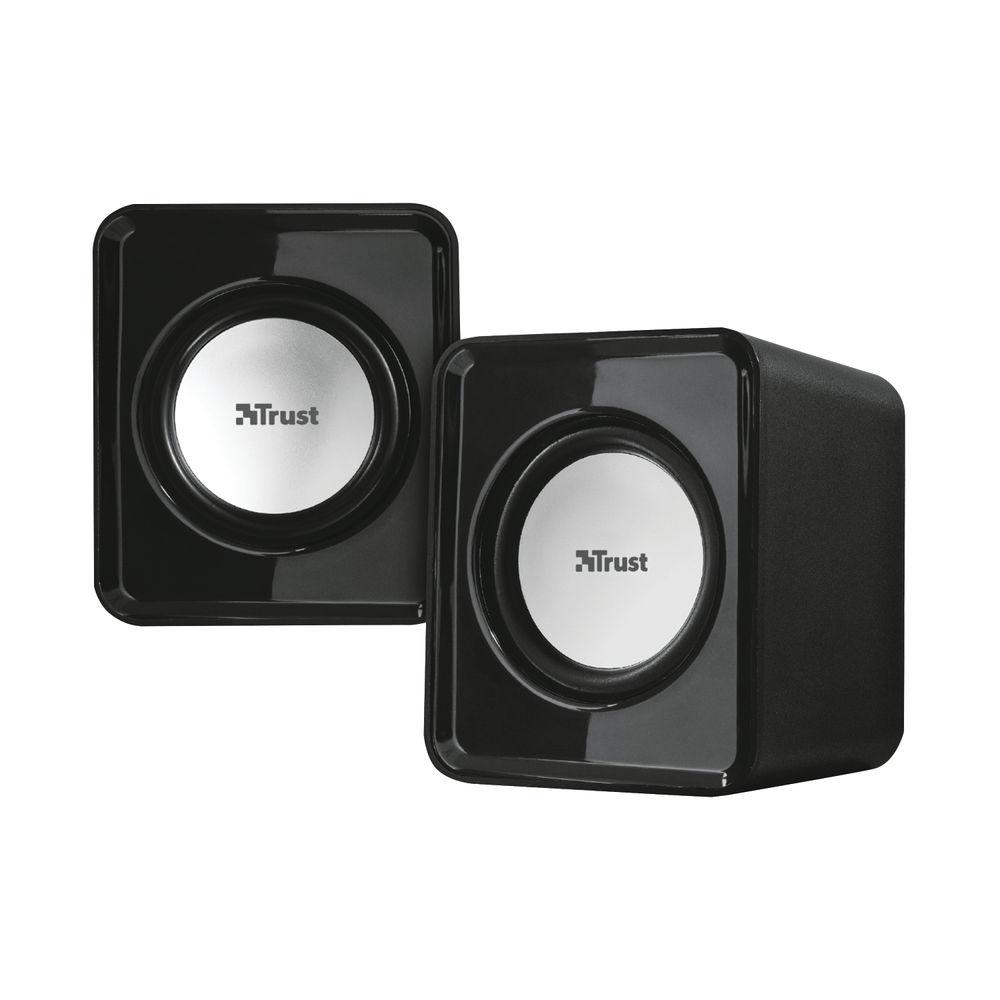 Trust Compact 6 Watt 2.0 speaker set (Watt RMS) 19830