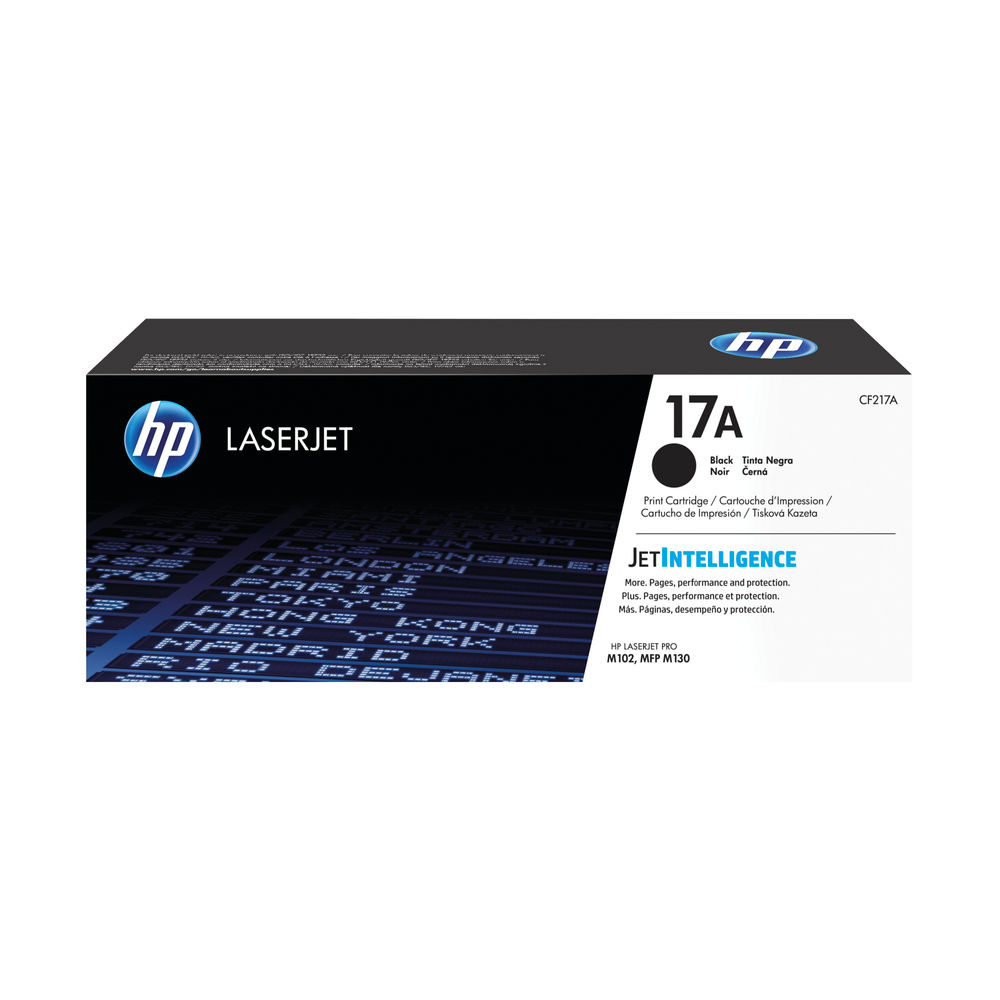 HP 17A Black Laserjet Toner Cartridge CF217A
