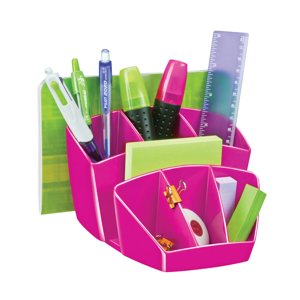 CepPro Gloss Pink Desk Tidy - 580G PINK