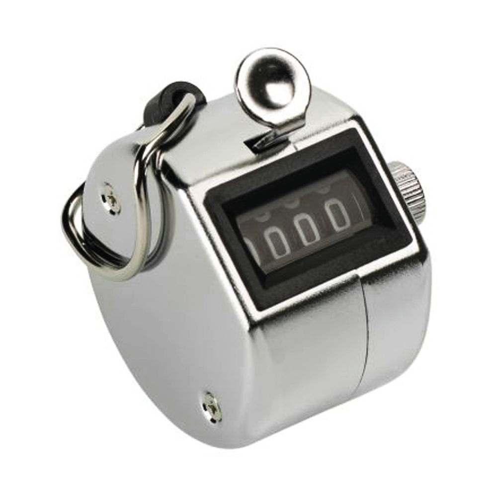 HHTC Tally Counter Handheld Chrome HTC001