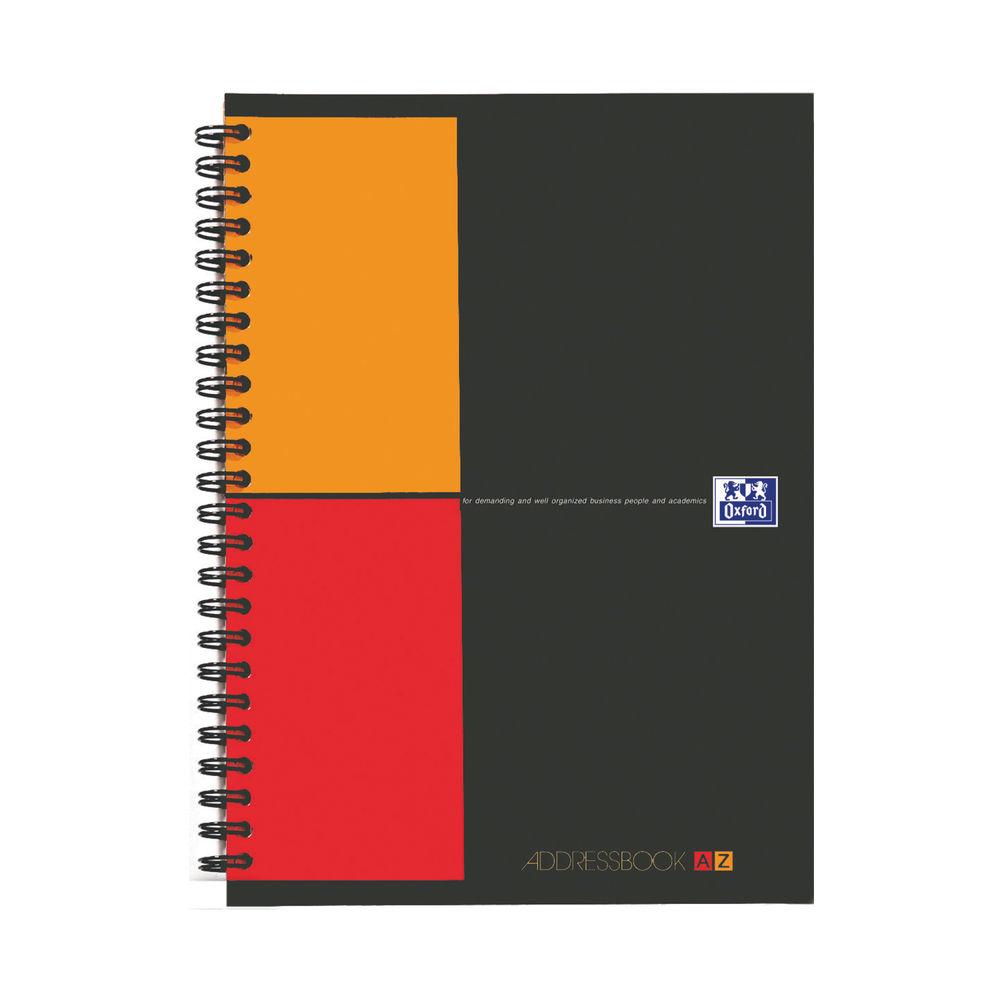 Oxford International Wirebound Address Book 144 Pages A5 100103165
