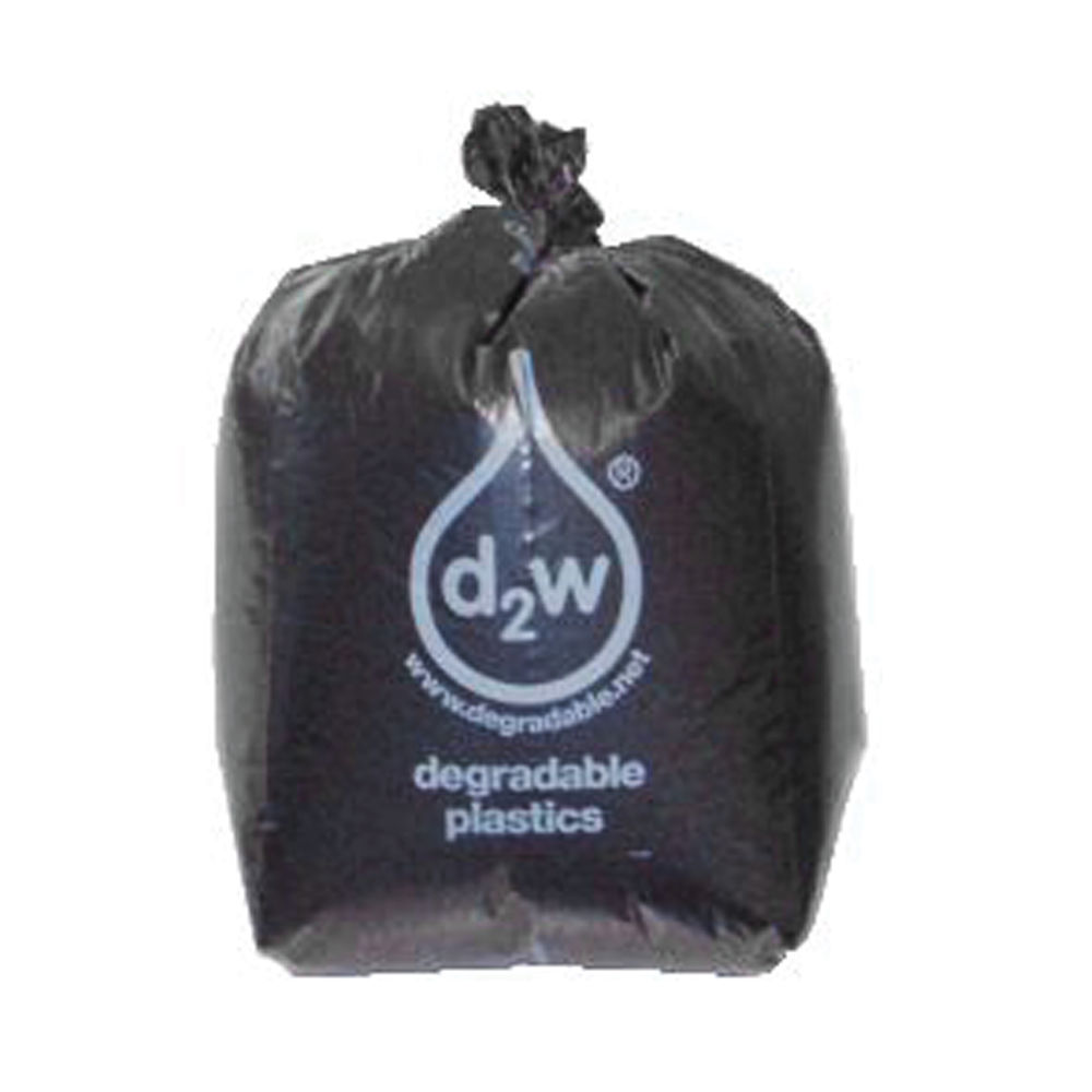 Refuse Sacks Biodegradable 457 x 737 x 914mm Black (Pack of 50) 703111