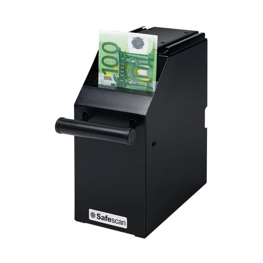 Safescan 4100 Point Of Sale Keyed Safe 300 Note Capacity Bracket Mounted Black 121-0276