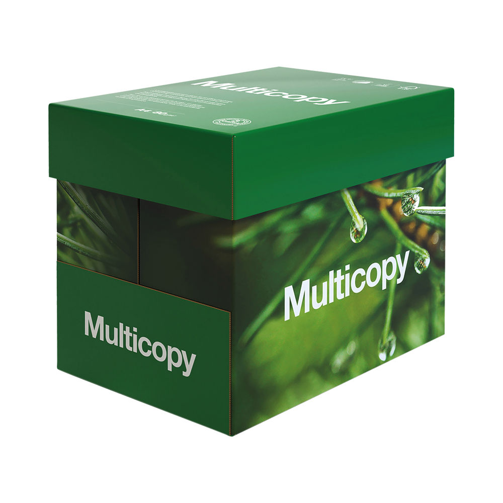 MultiCopy A4 White Multipurpose Paper 80gsm (Pack of 2500) 157056