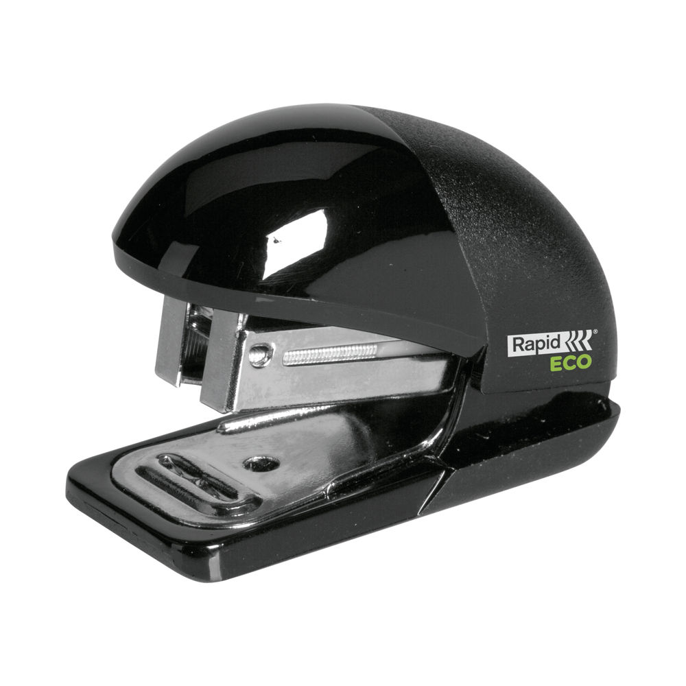 Rapid Eco Mini Manual Stapler Black 24846201