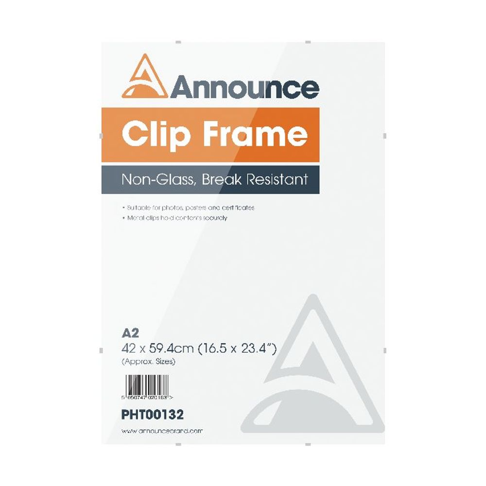 Announce A2 Clip Frame - CF4259NG