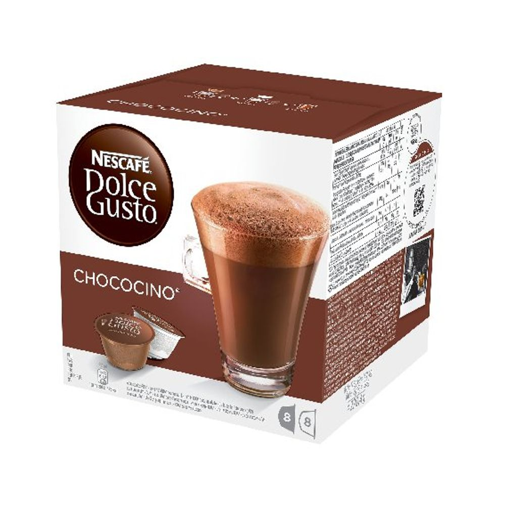 Nescafe Dolce Gusto Chococino Capsules, Pack of 48 - 12311711