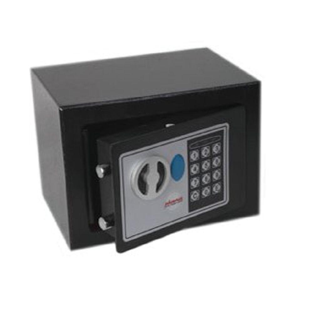 Phoenix Black Compact Home/Office Safe 3kg - SS0721E