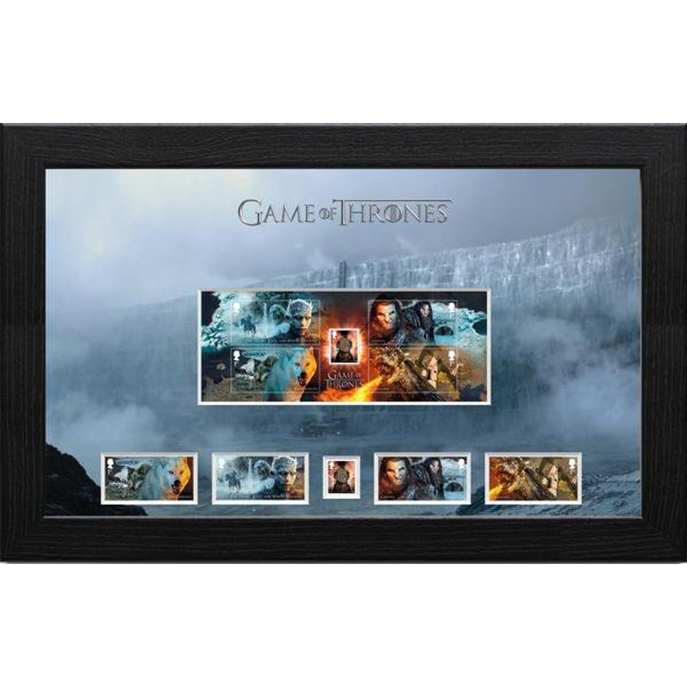 Game of Thrones Framed Miniature Sheet - N3119