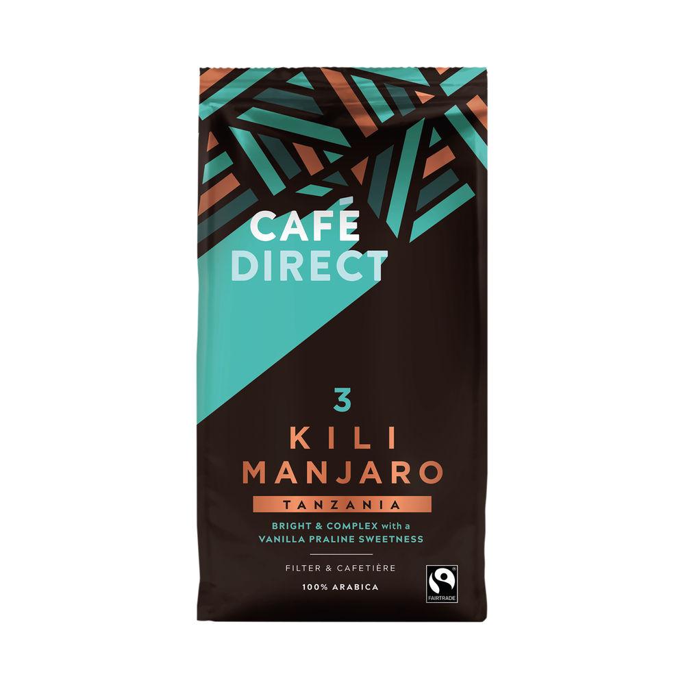 Cafedirect Kilimanjaro Coffee 227g FCR0004