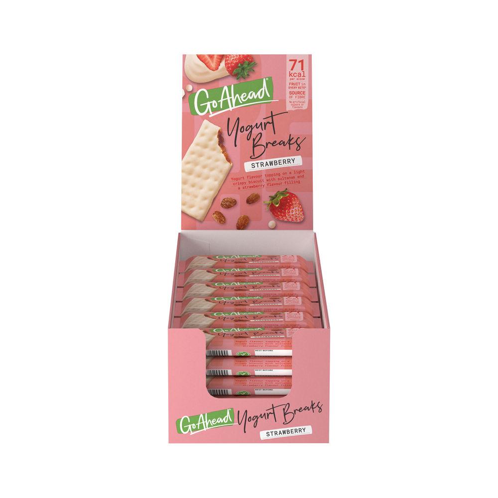 Go Ahead Strawberry Yoghurt Breaks, Pack of 24 - 11300