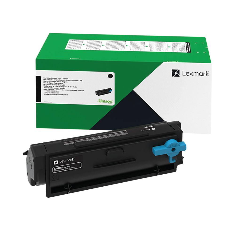 Lexmark B342H00 Black High Yield Return Programme Toner Cartridge B342H00