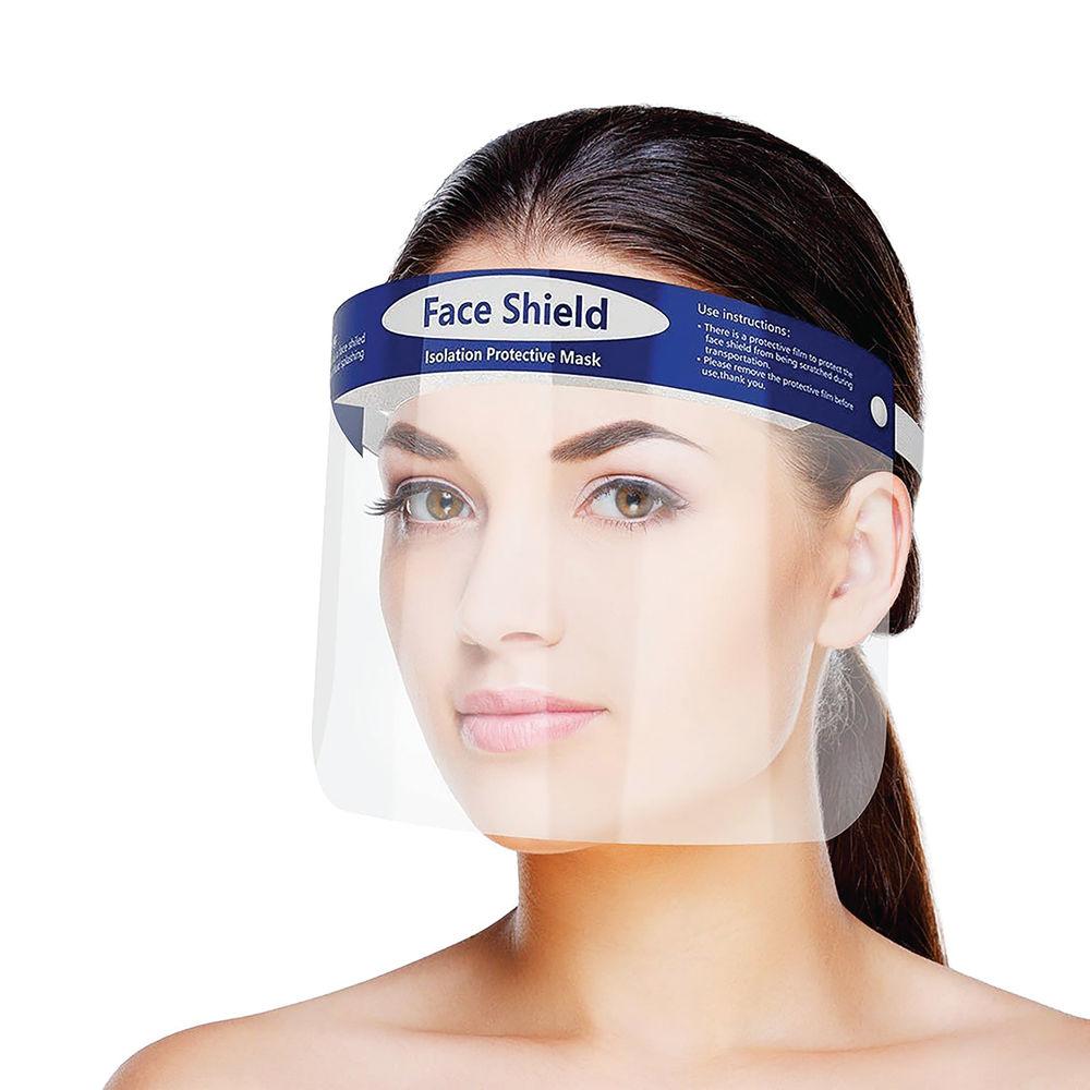 Protective Clear Reusable Face Shield - 34059A