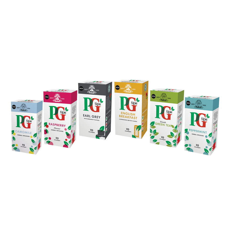 PG Tips Speciality Tea Variety Pack - 29485801