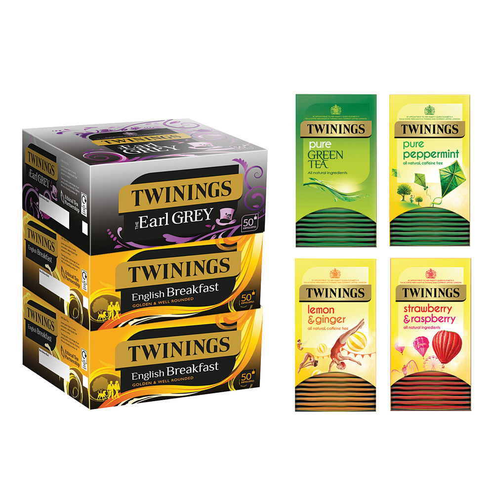 Twinings Favourites Variety Pack, Pack of 380 - F14907
