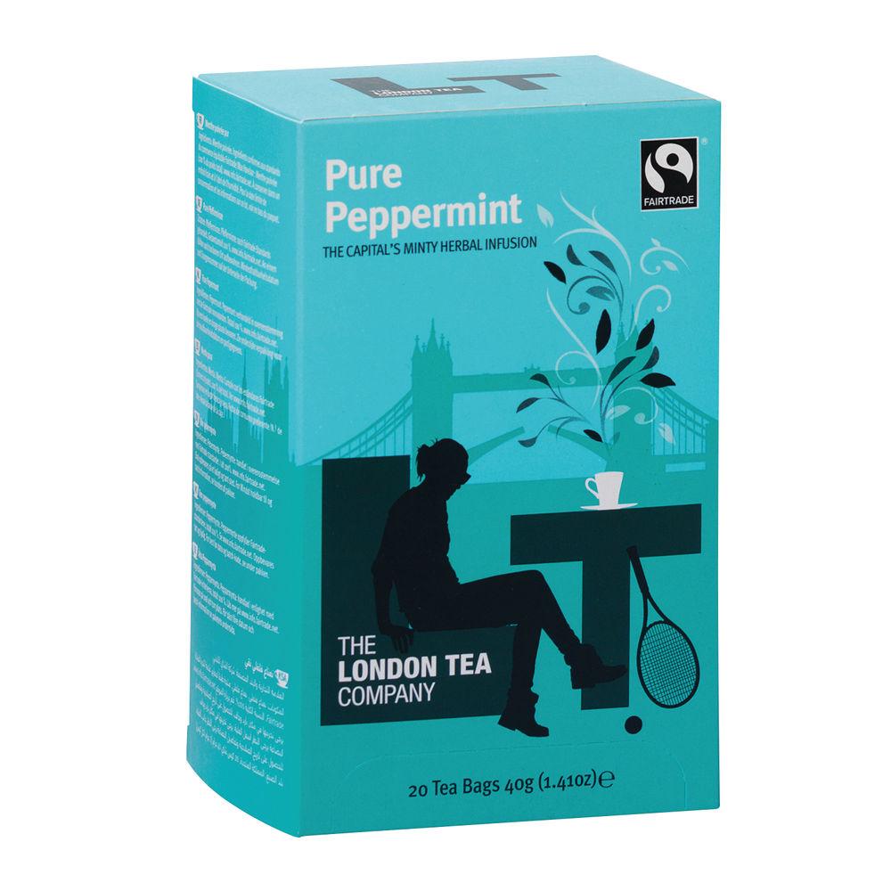 London Tea Peppermint Tea, Pack of 20 - FLT0002