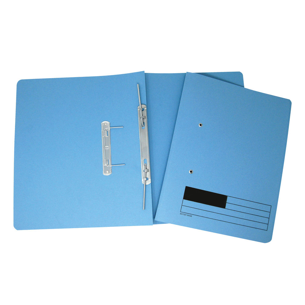 Blue A4 Transfer Files, Pack of 50 - LL06282