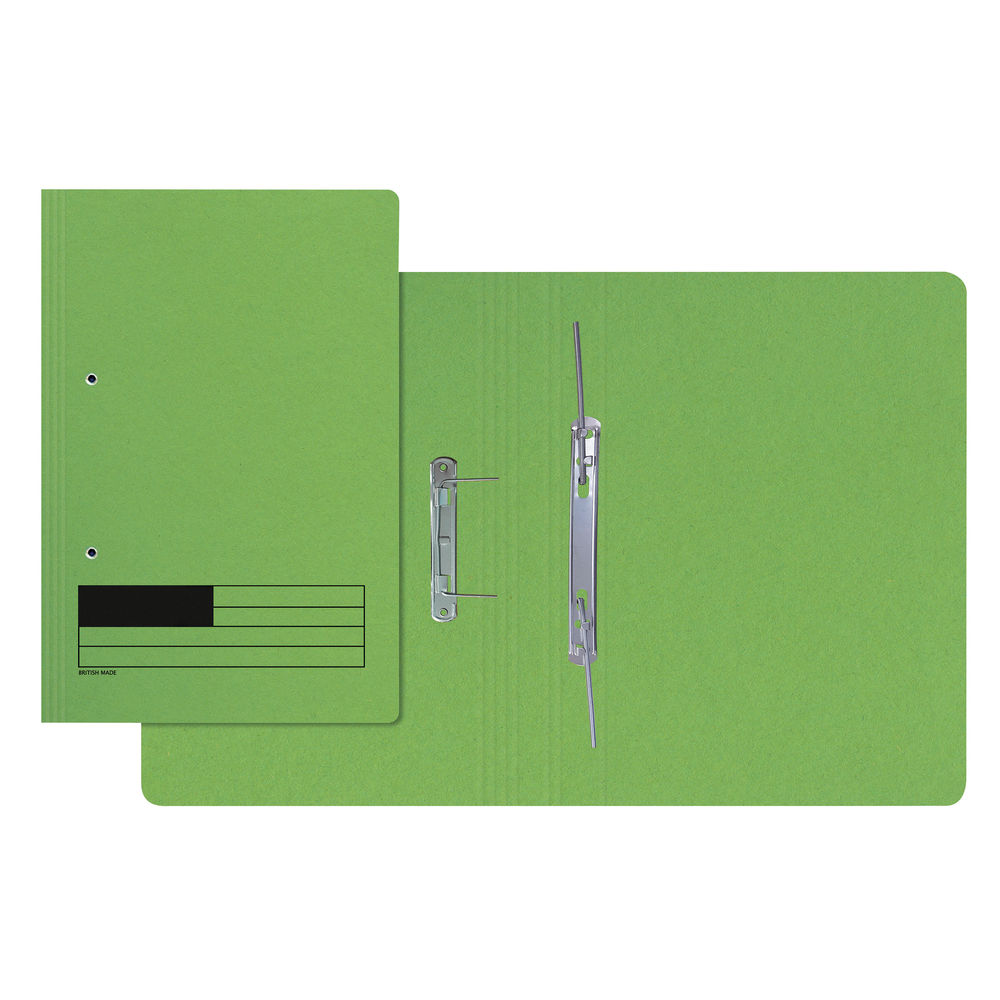 Green A4 Transfer Files, Pack of 50 - LL06284