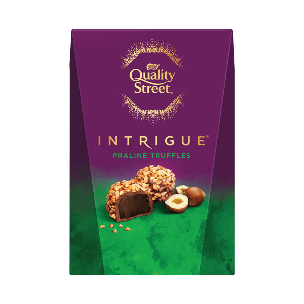 Nestle Quality Street Intrigue Praline Truffles Box 200g 12428216