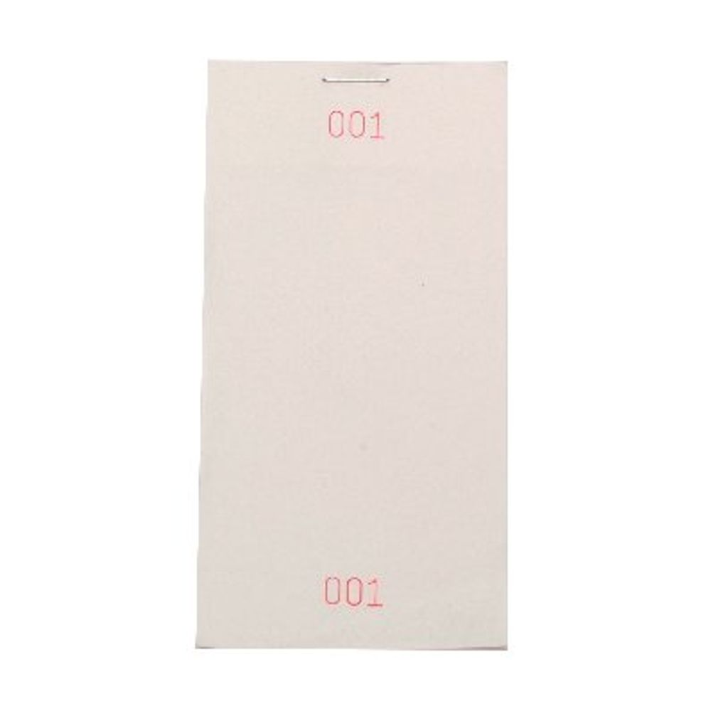 Prestige White Restaurant Pad 127 x 64mm, Pack of 50 - HY99033