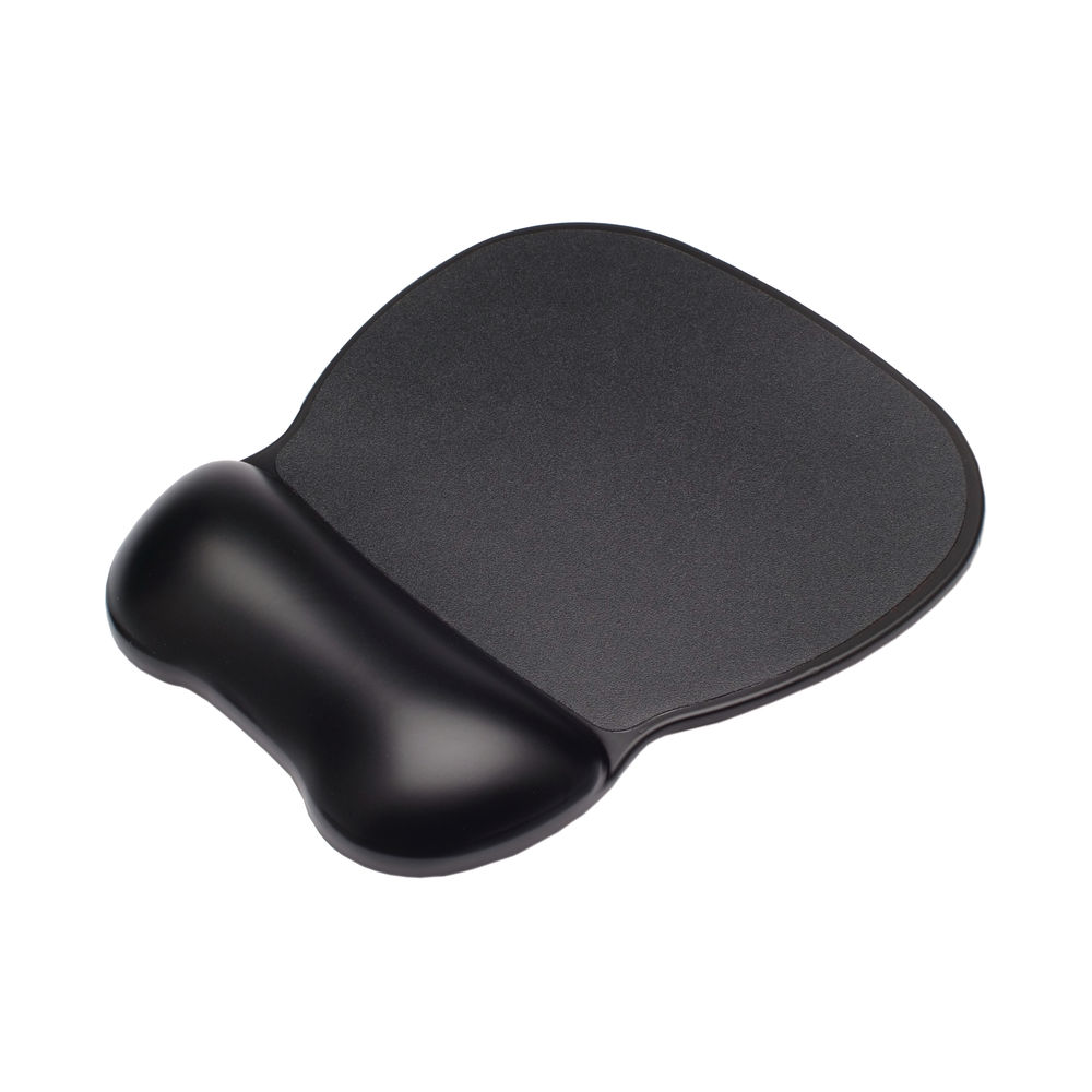 Contour Ergonomics Soft Skin Gel Mouse Mat Black CE77000