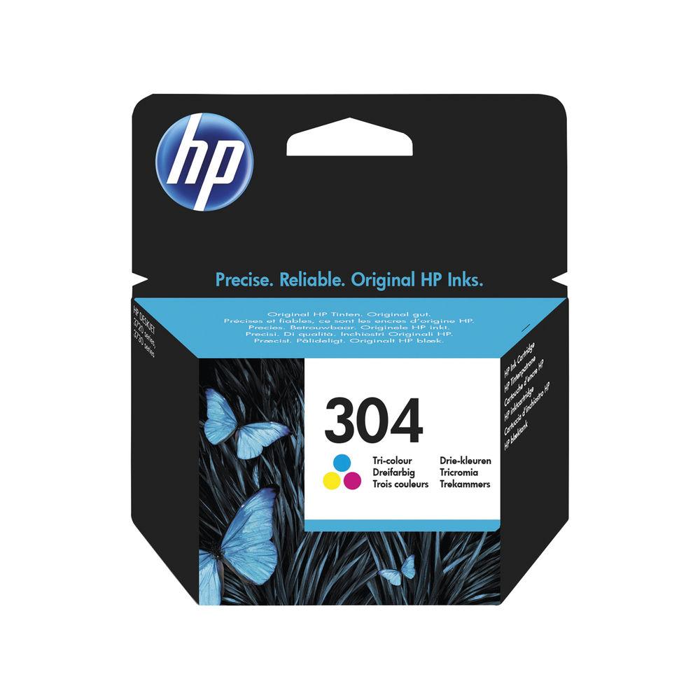 HP 304 Tri-Colour Ink Cartridge | N9K05AE