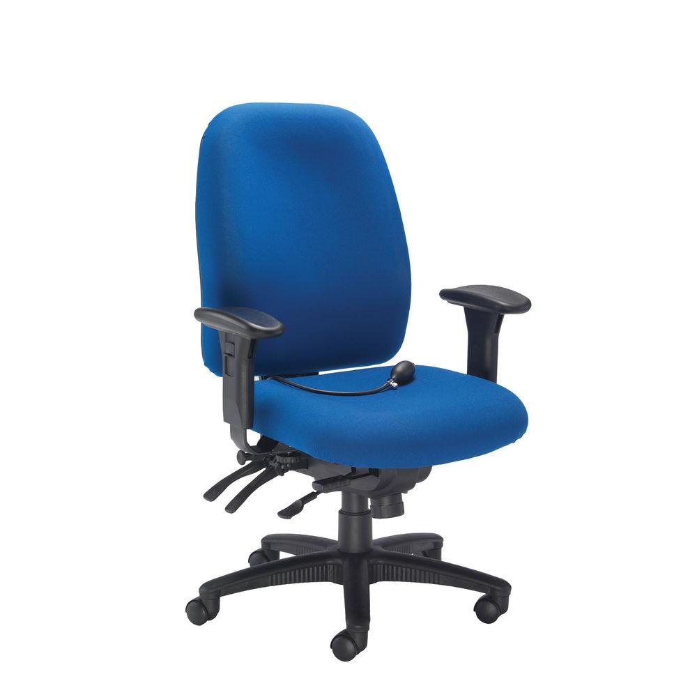 Avior Snowdon Blue Heavy Duty Office Chair