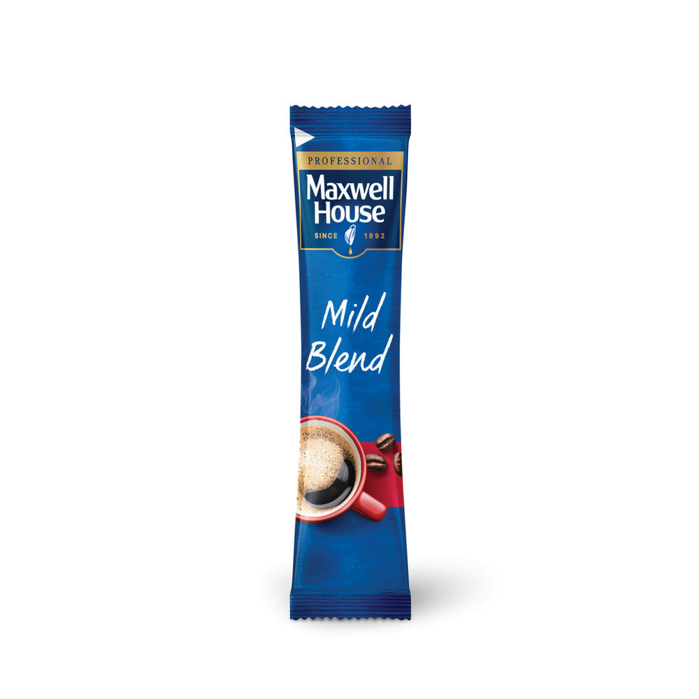 Maxwell House Instant Mild Sticks Pack of 1000 4041138