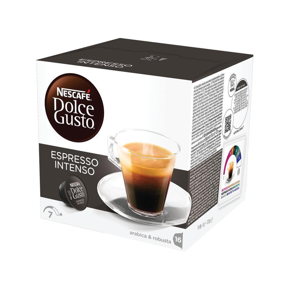Nescafe Dolce Gusto Espresso Intenso Capsules, Pack of 48 - 12048955
