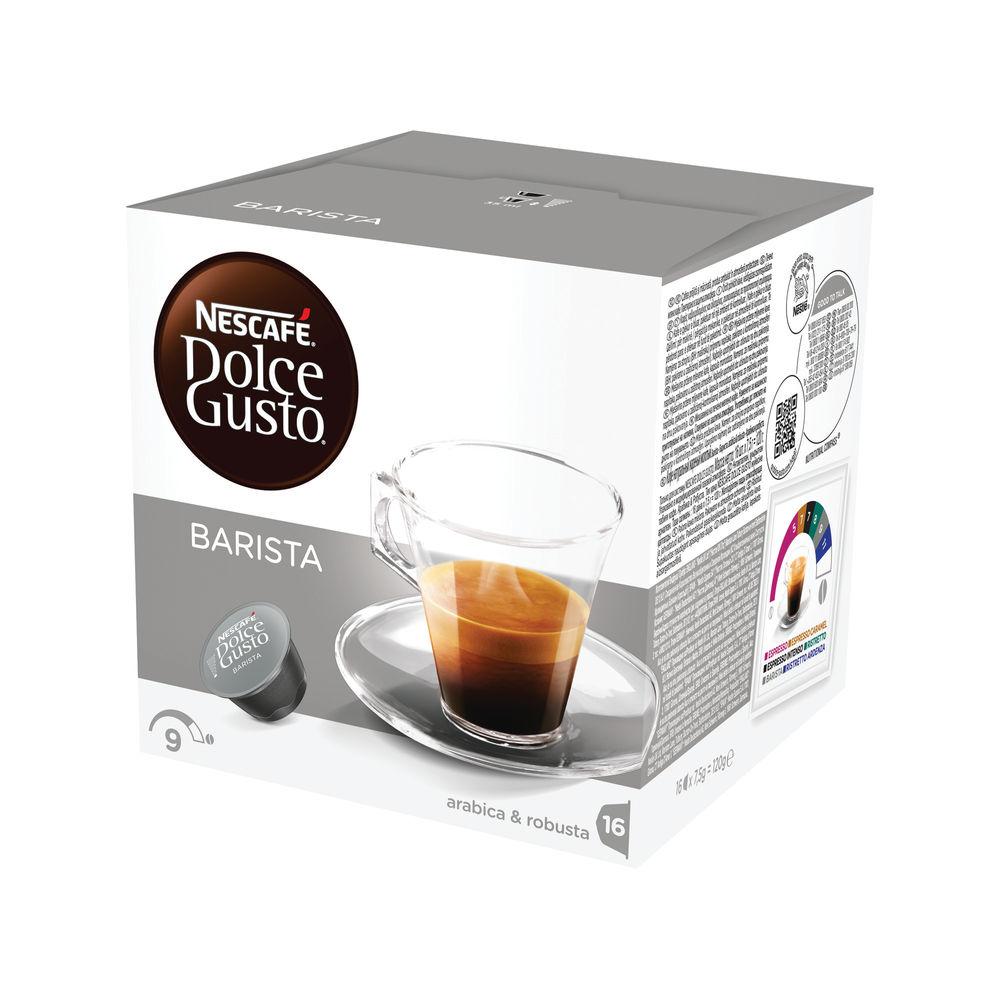 Nescafe Dolce Gusto Espresso Barista Capsules, Pack of 48 - 12178386