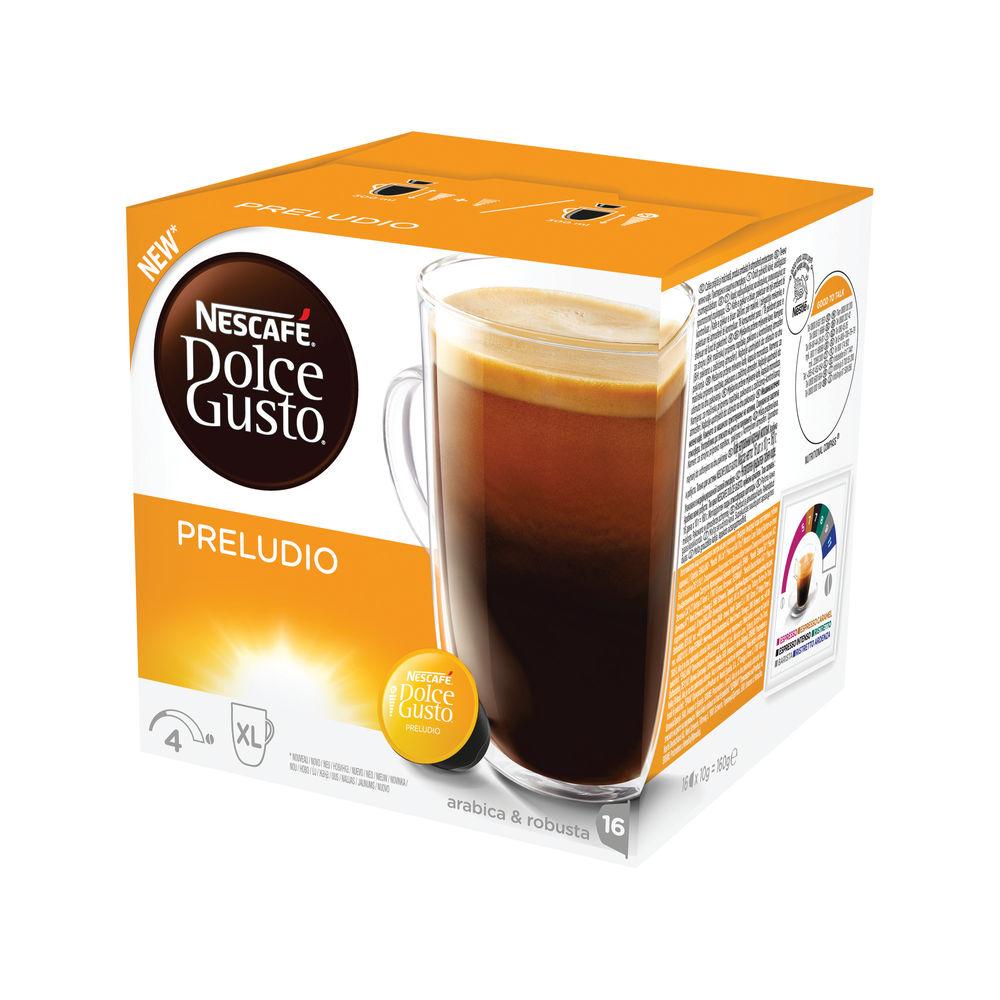 Nescafe Dolce Gusto Preludio Capsules, Pack of 48 - 12320192
