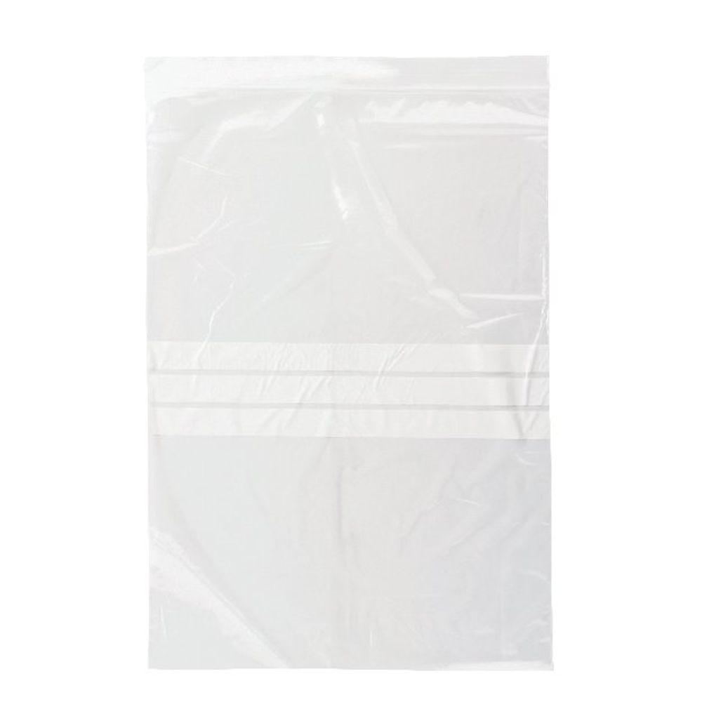 Write-on Minigrip Resealable Plastic Bag, 230x325mm - Pack of 1000 - GA-132