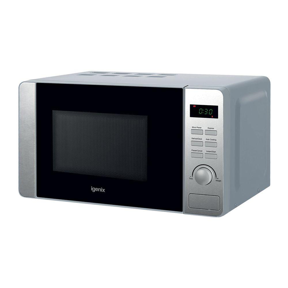 Igenix 20 Litre 800w Digital Microwave Stainless Steel IG2060
