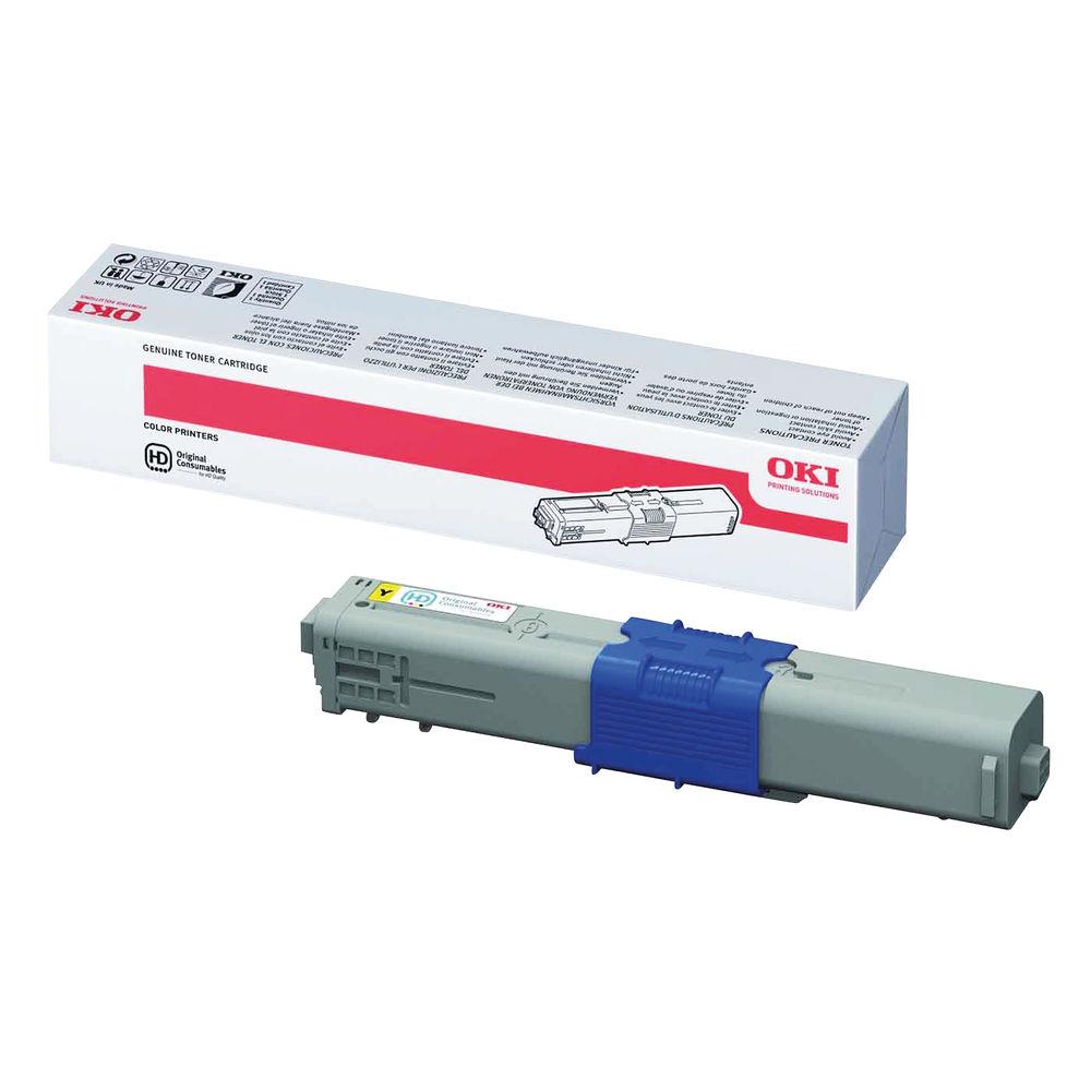 Oki Yellow Toner Cartridge - High Capacity - 44469722