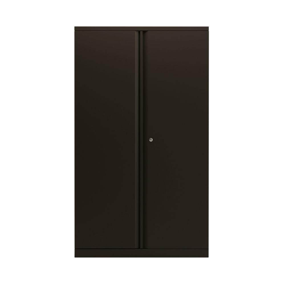 Bisley 1570mm Black 2 Door Empty Cupboard - BY78714