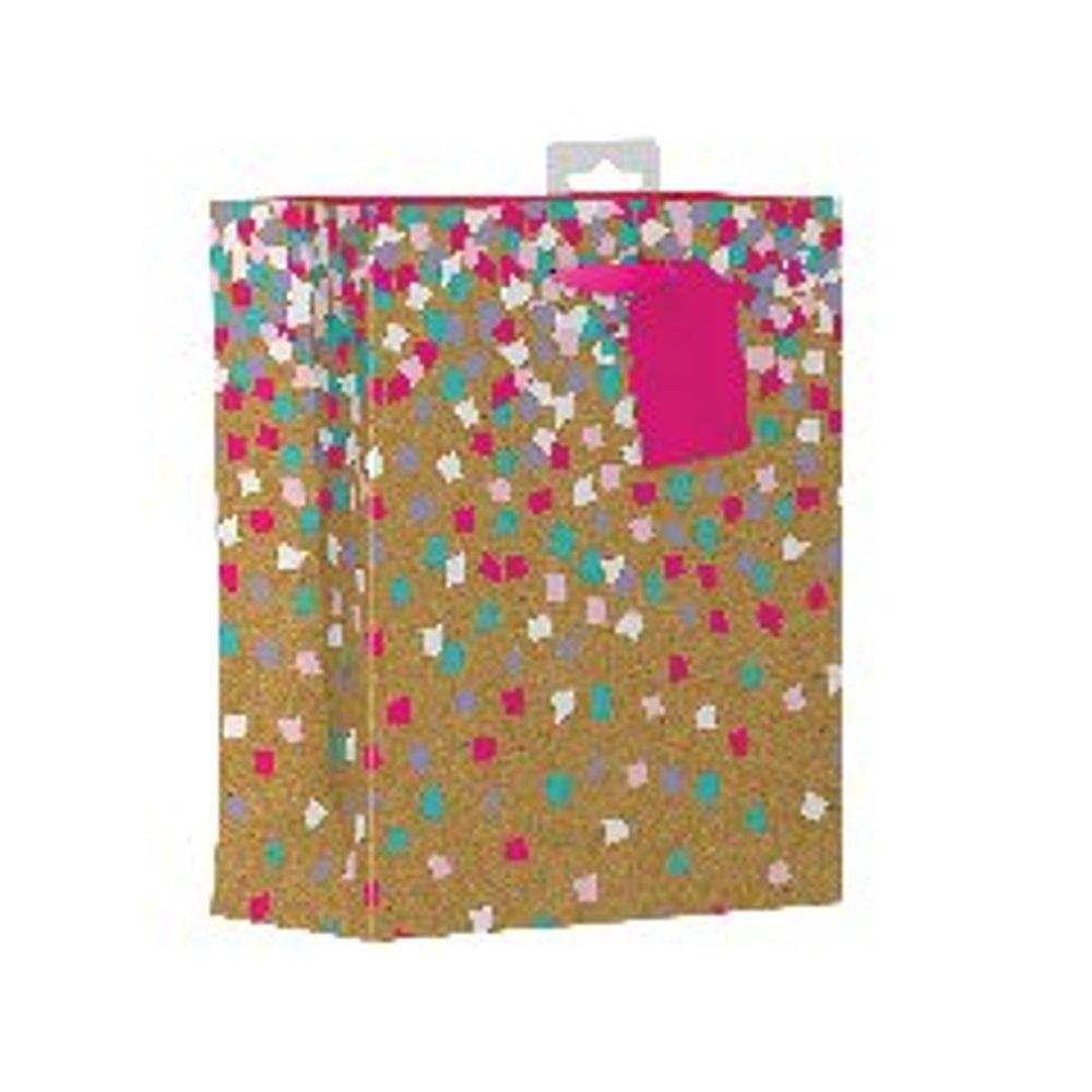 Giftmaker Confetti Medium Gift Bags, Pack of 6 - FCOM