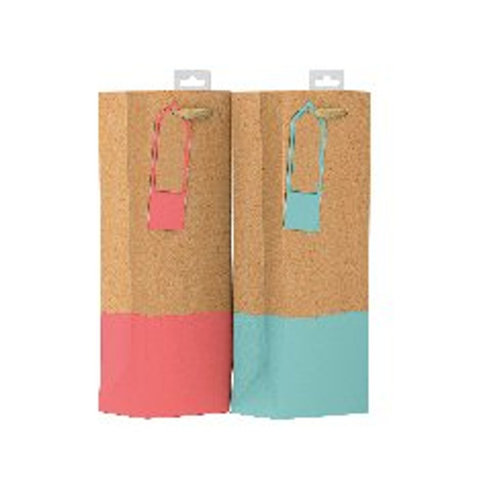 Giftmaker Colour Dipped Bottle Bags, Pack of 6 - GDPB
