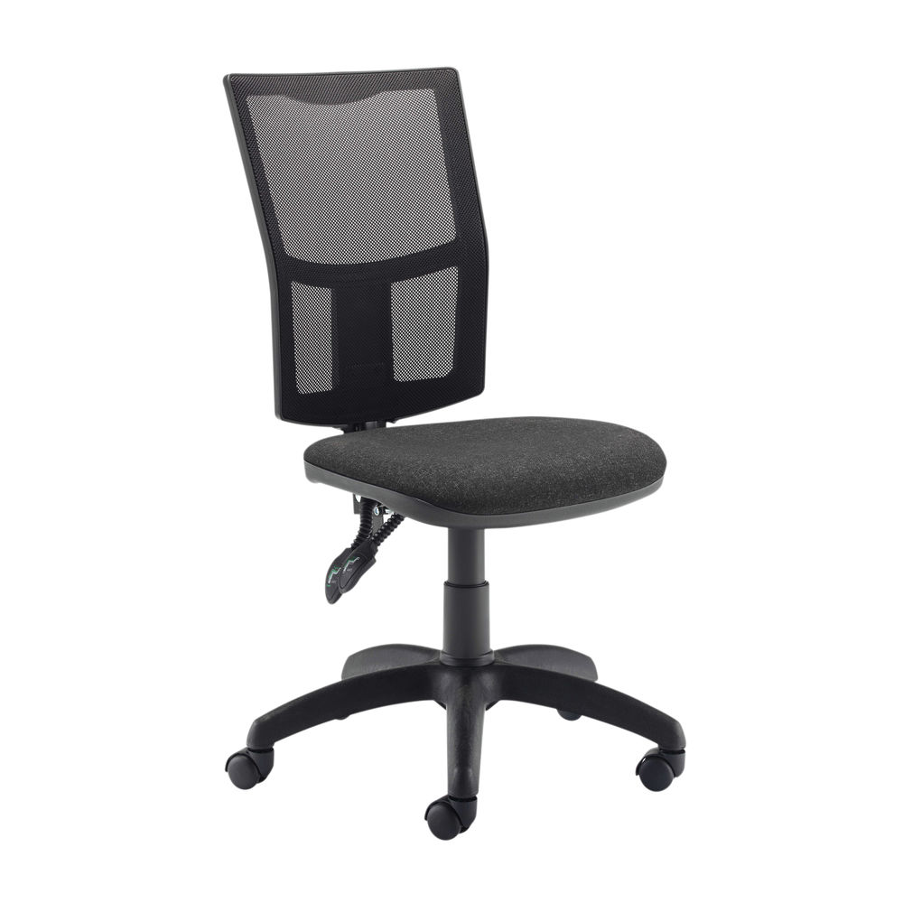 First Medway Black High Back Mesh Operator Office Chair