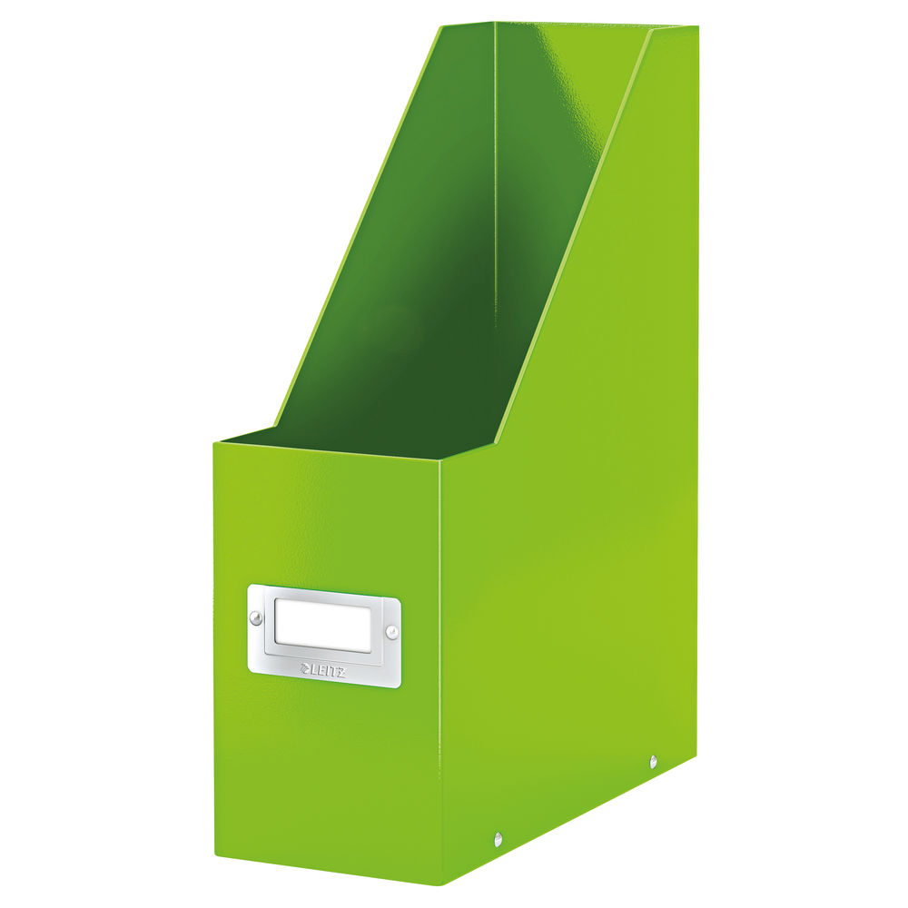 Leitz WOW Green Click and Store Magazine File - 60470054