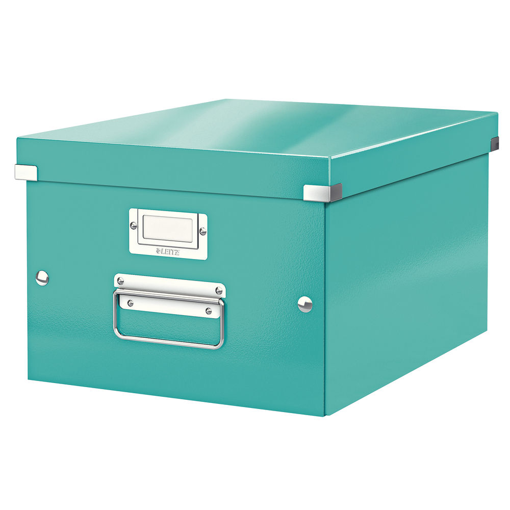 Leitz WOW Ice Blue Click and Store Box - 60440051