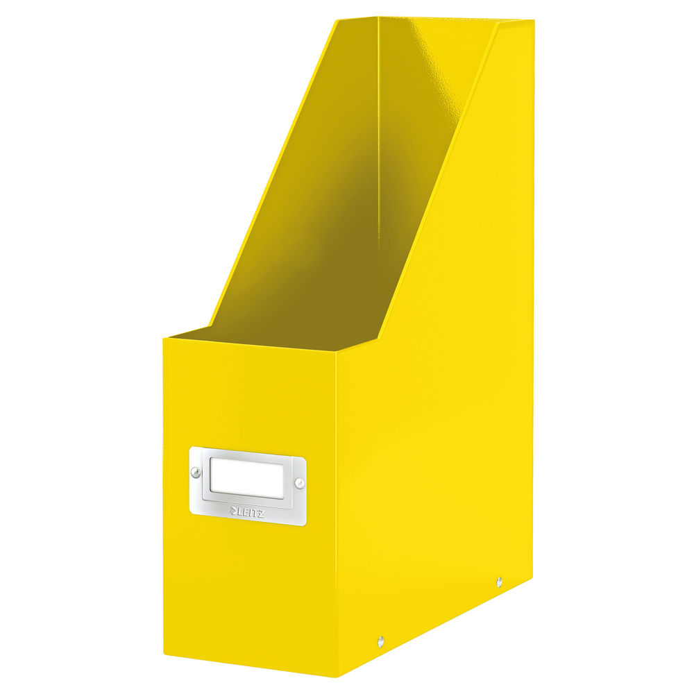 Leitz WOW Yellow Click and Store Magazine File - 60470016