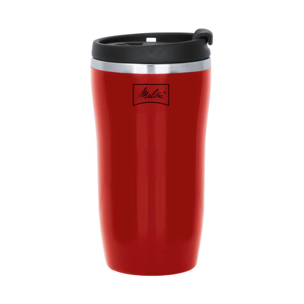 Melitta Thermal Mug 75x75x148mm 250ml Red 6758256