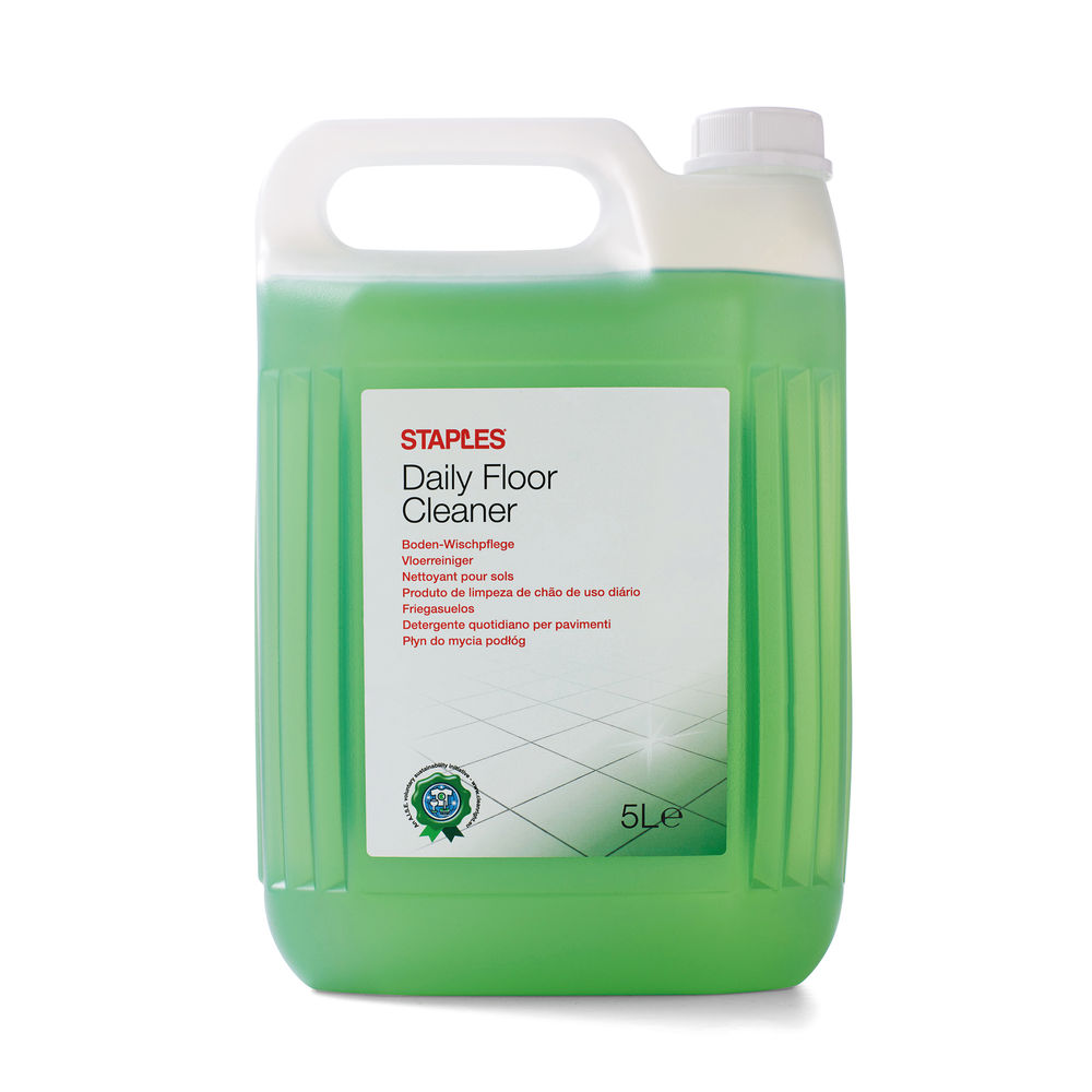 Staples Daily Floor Cleaner Pine Green Concentrate 5L 8852091