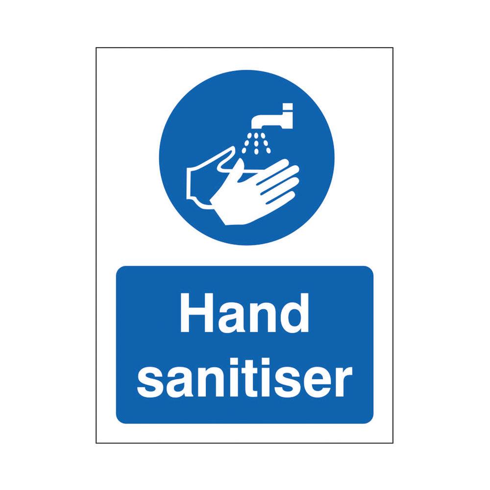 Safety Sign Keep Your Hands Clean SAV 150 x 200mm M403SAV-150X200