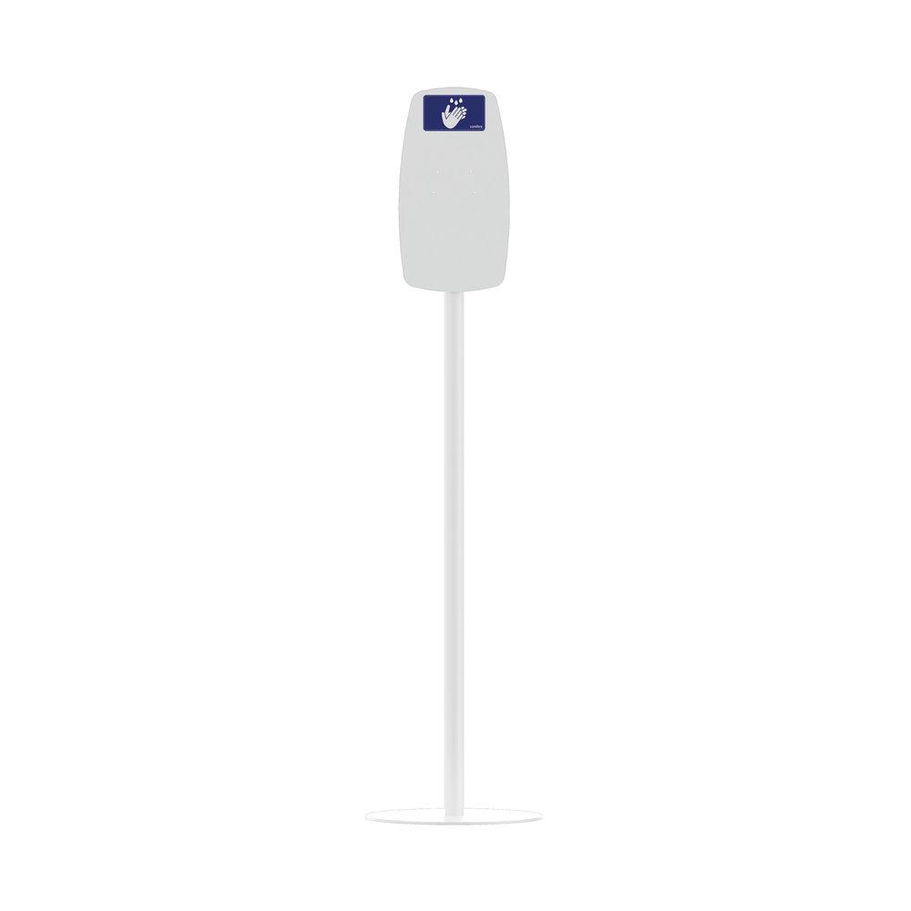 Sanitex MVP Touch Free Floor Stand Freestanding White TEXD-BRKT-WHITE