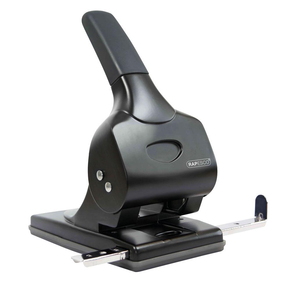 Rapesco Black ALU 65 Hole Puncher - 1015