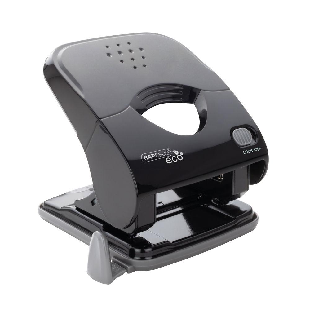 Rapesco Black ECO X5-40ps 2 Hole Puncher - 1525